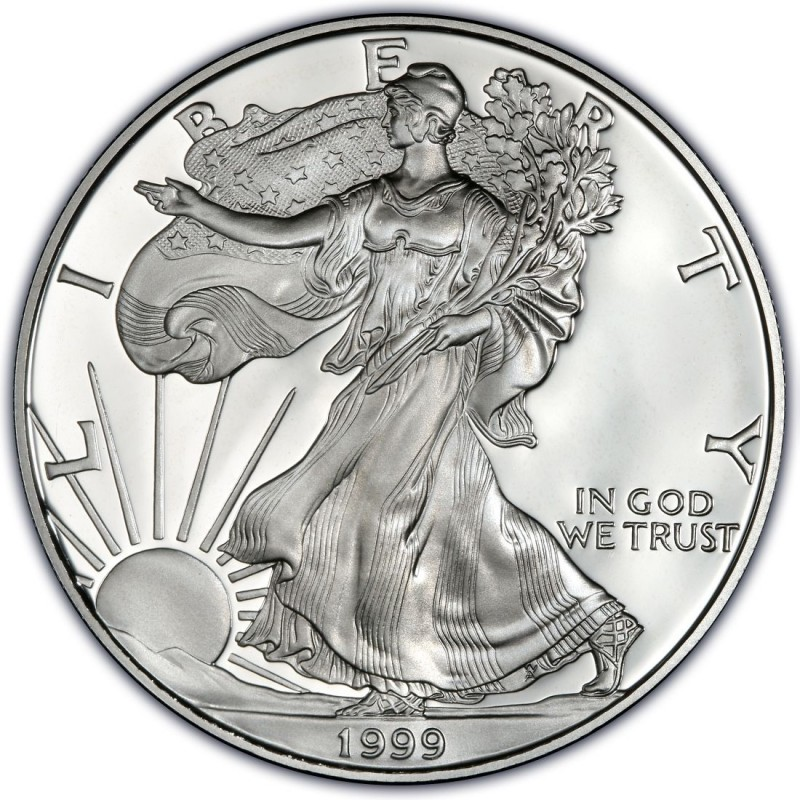 1999 American Silver Eagle Values And Prices Coinvalues Com