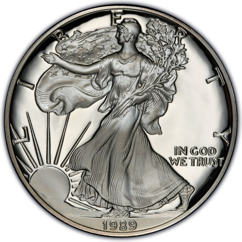 1989 American Silver Eagle Values And Prices Coinvalues Com