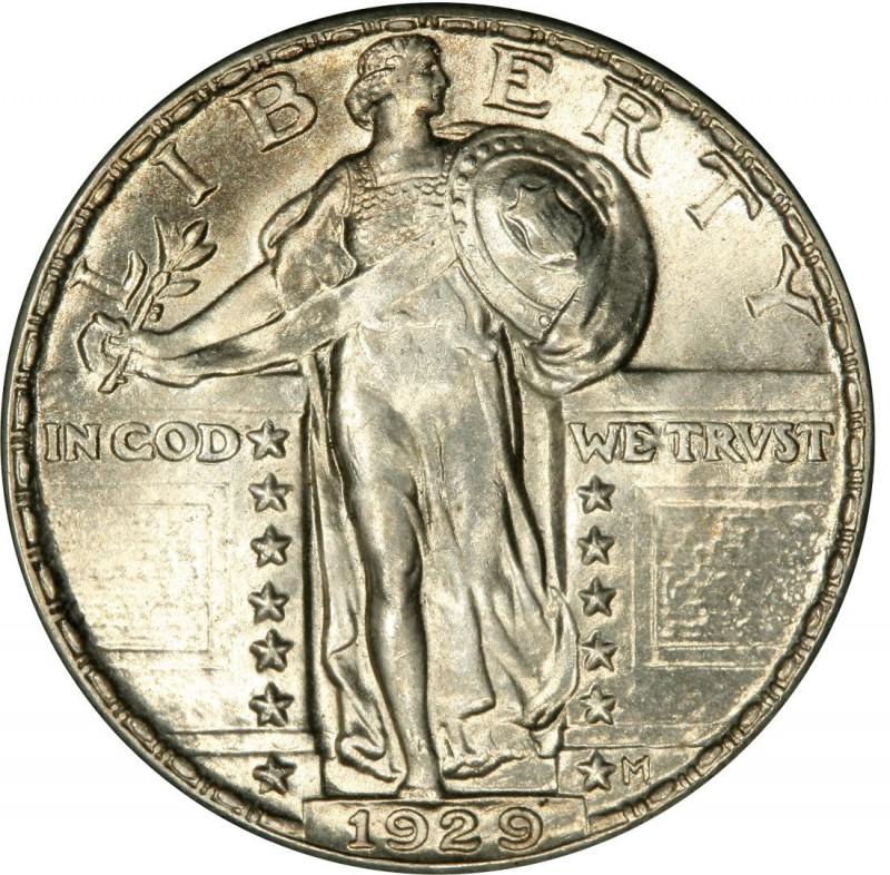 1929 Standing Liberty Quarter Values