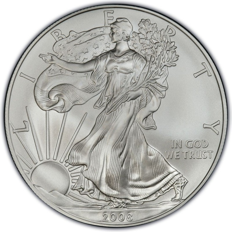2008 American Silver Eagle Values And Prices Coinvalues Com