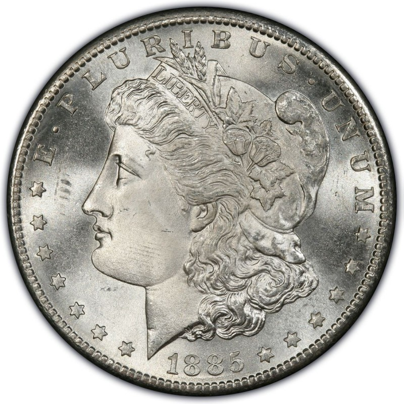 1885 Morgan Silver Dollar Value