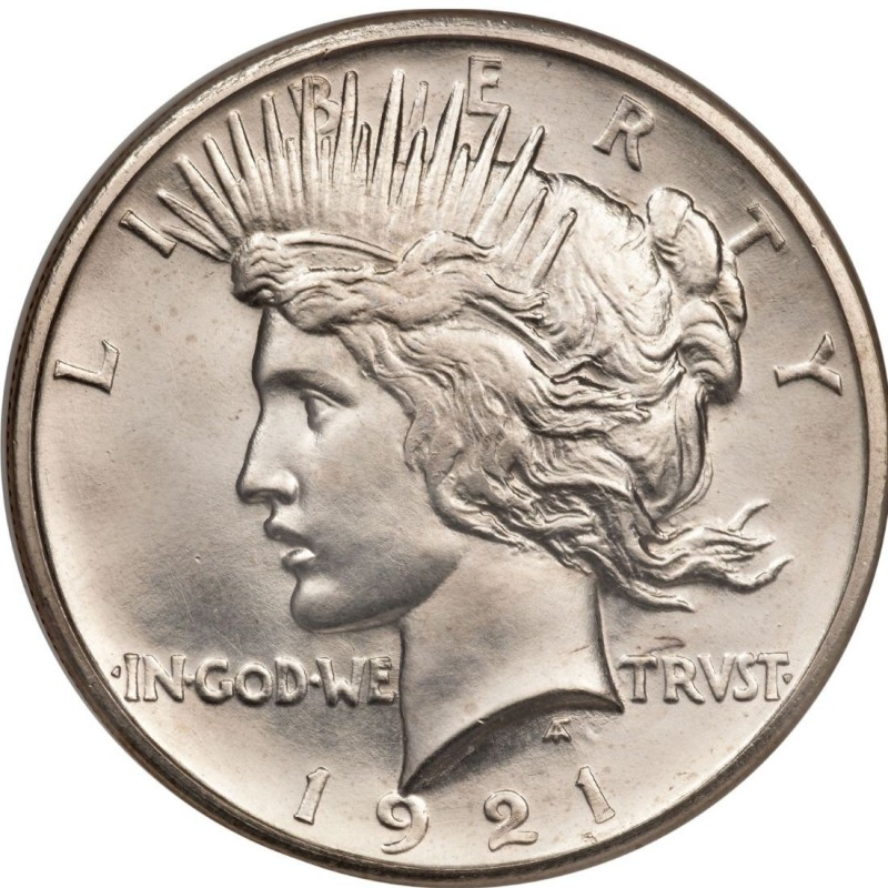 1921 Peace Dollar Values And Prices Past Sales