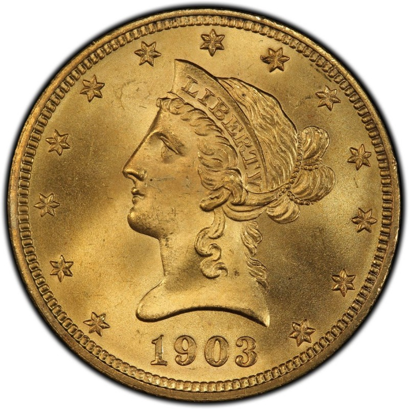 1903 Liberty Head 10 Gold Eagle Values And Prices Past