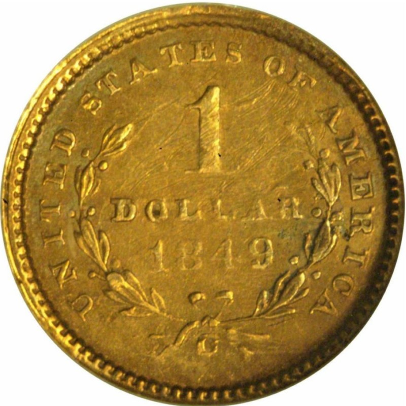 1849 Liberty Head Gold 1 Coin Values And Prices Past