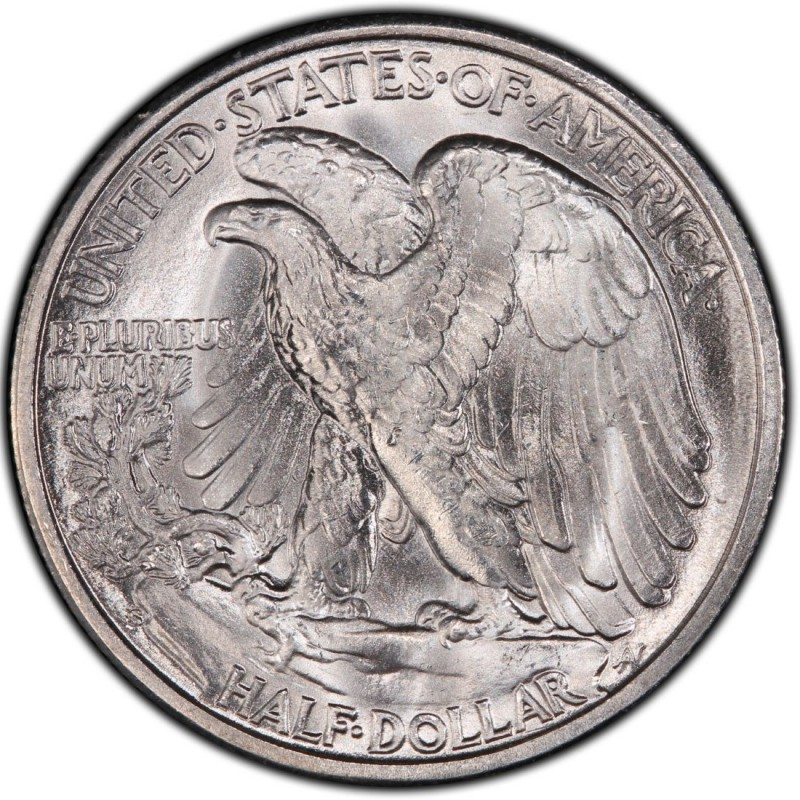 1945 Walking Liberty Half Dollar Values And Prices Past