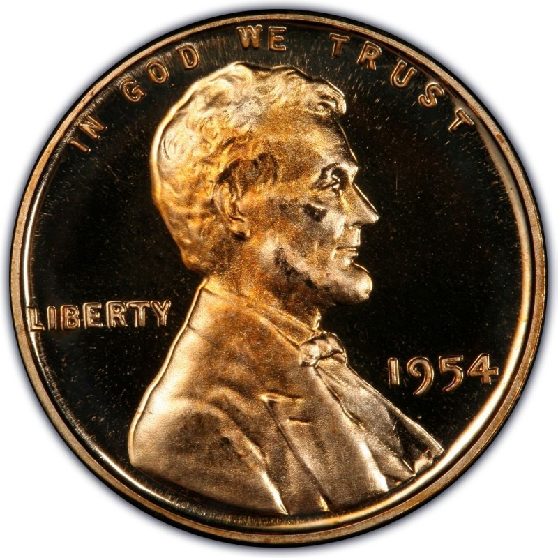 1954 Lincoln Wheat Pennies Values and Prices - Past Sales