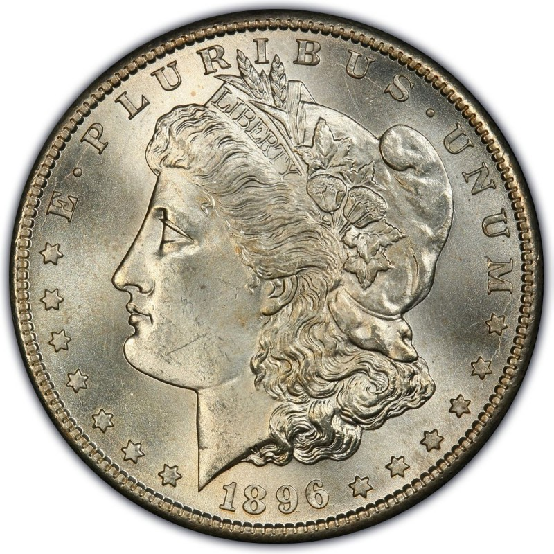 1896 Morgan Silver Dollar Values And Prices Past Sales