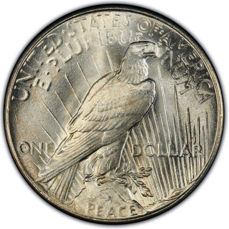 1935 Peace Dollar Values And Prices Past Sales