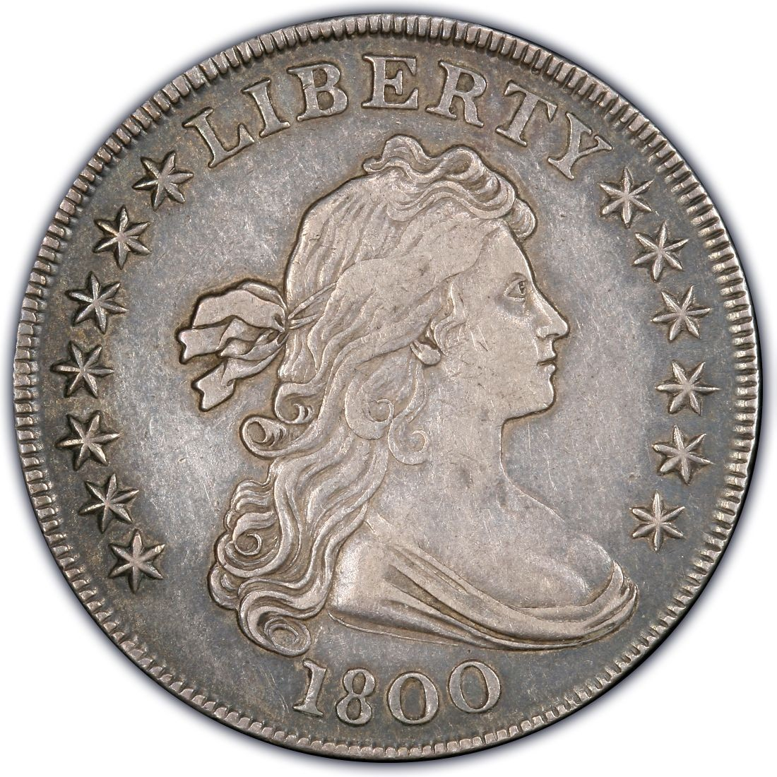 1800 Draped Bust Silver Dollar Values And Prices Past