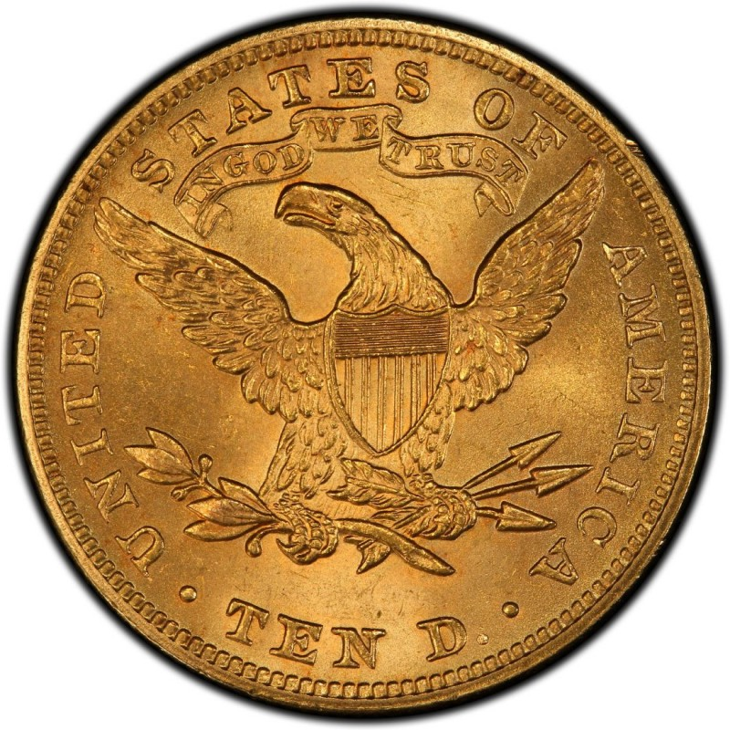 1898 Liberty Head 10 Gold Eagle Values And Prices Past