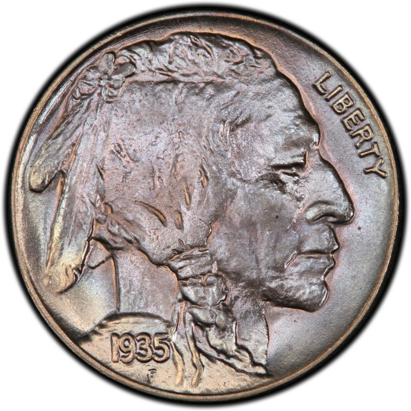 1935 Buffalo Nickel Values and Prices - Past Sales