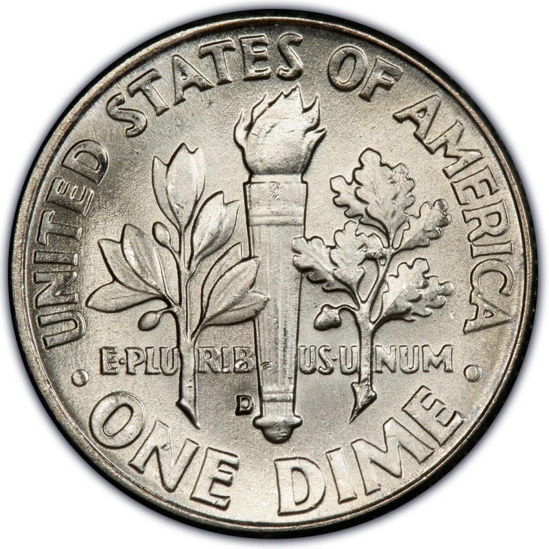 1962 Roosevelt Dime Values And Prices Past Sales Coinvalues Com