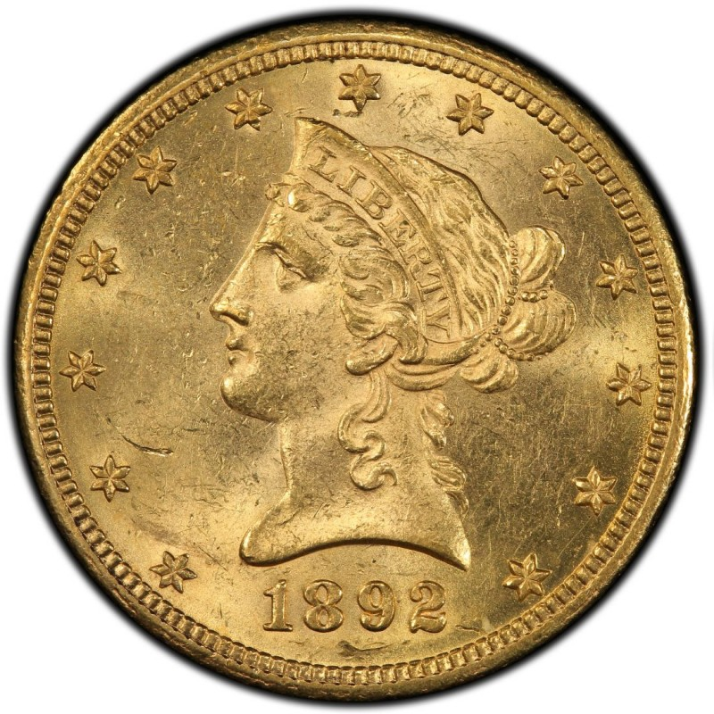 1892 Liberty Head 10 Gold Eagle Values And Prices Past