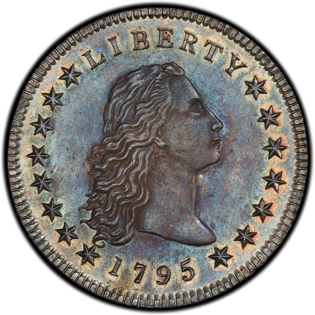 1795 Flowing Hair Silver Dollar Values And Prices Past