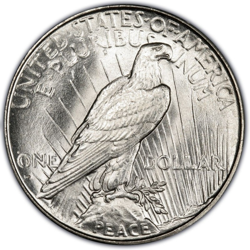 1934 Peace Dollar Values And Prices Past Sales
