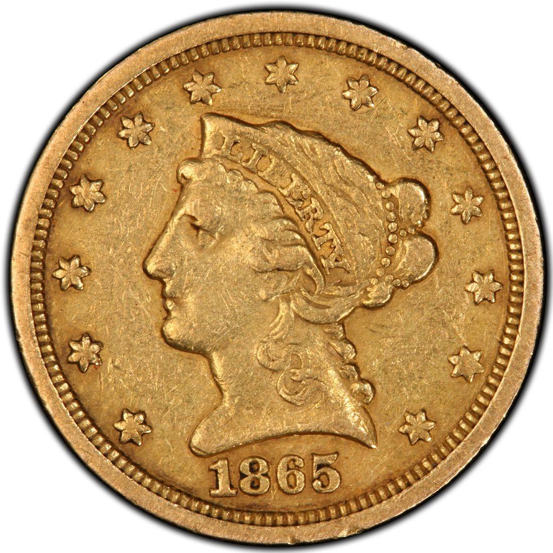1865 coin
