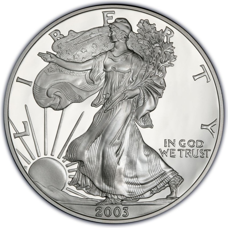 2003 American Silver Eagle Values And Prices Coinvalues Com