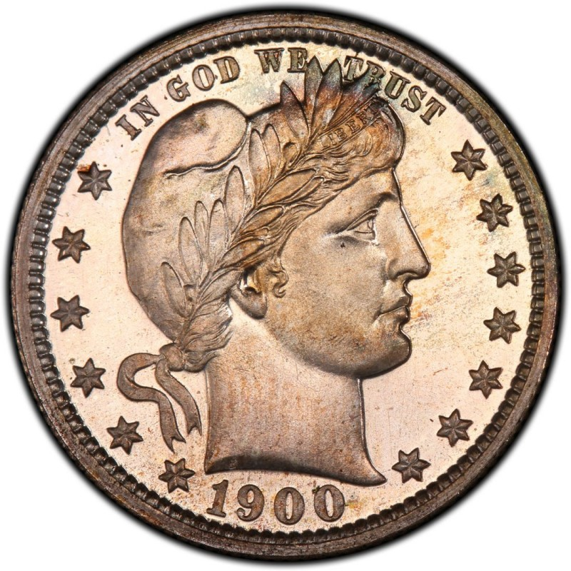 1900 Barber Quarter Values And Prices Past Sales