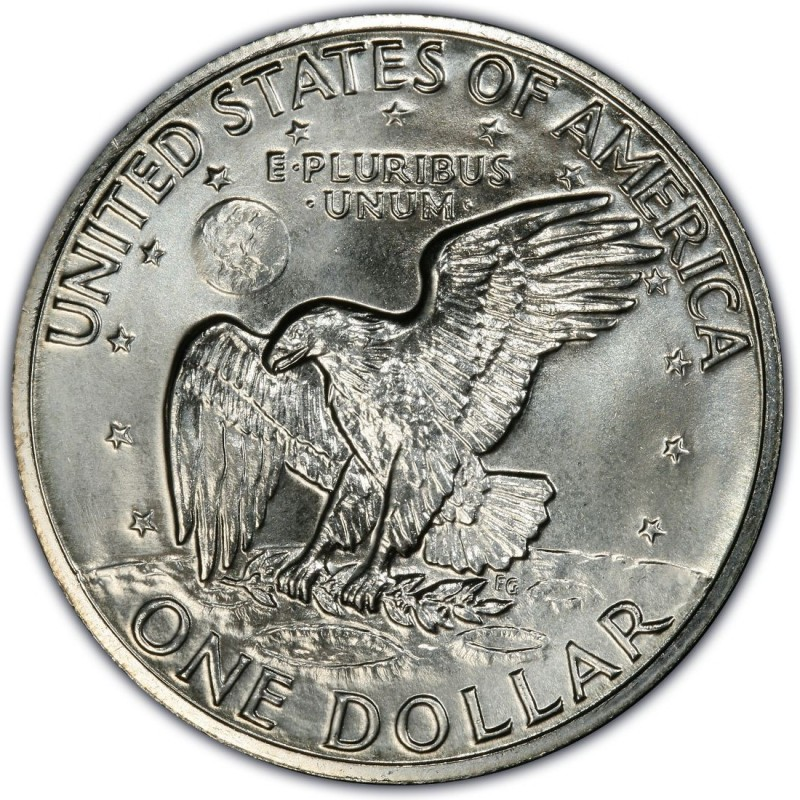 1972 Eisenhower Dollar Values And Prices Past Sales