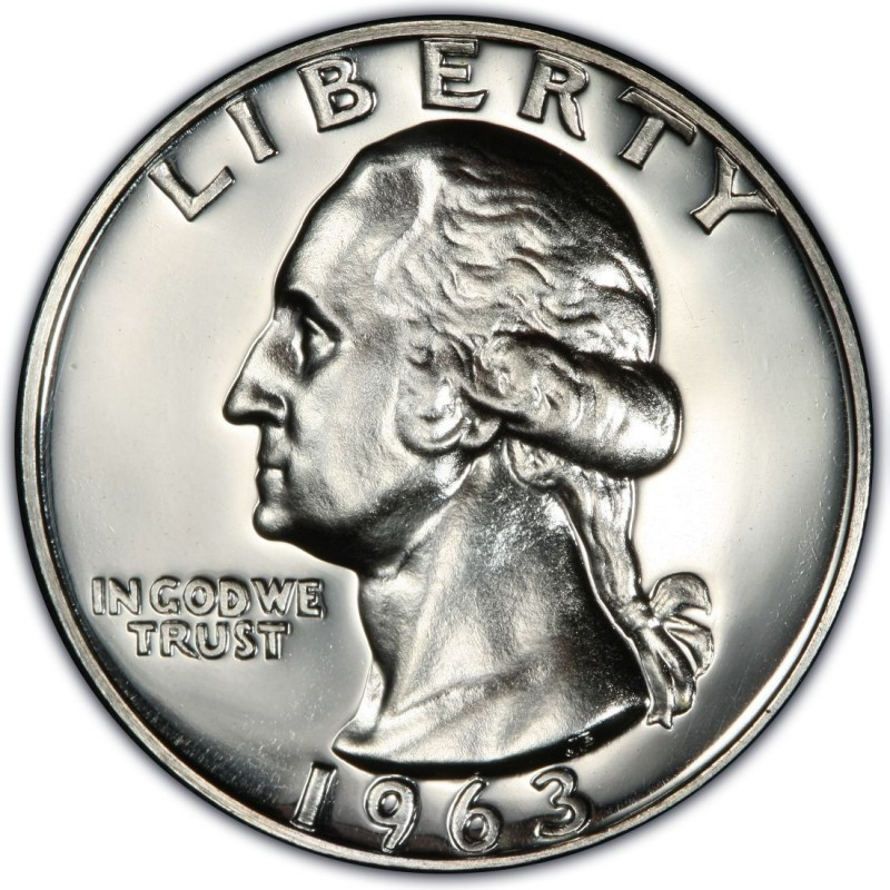 1963 Washington Quarter Values And Prices Past Sales