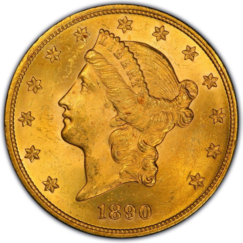 1890 Liberty Head Double Eagle Values And Prices Past