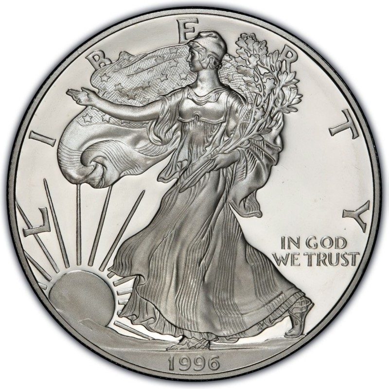 1996 American Silver Eagle Values And Prices Coinvalues Com