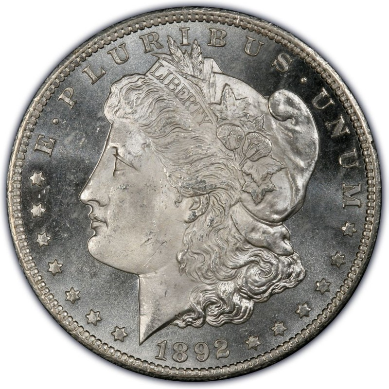 1892 Morgan Silver Dollar Values and Prices - Past Sales