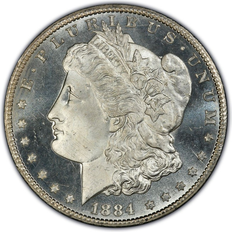 1884 CC Morgan Silver Dollar Coin Value Prices, Photos & Info