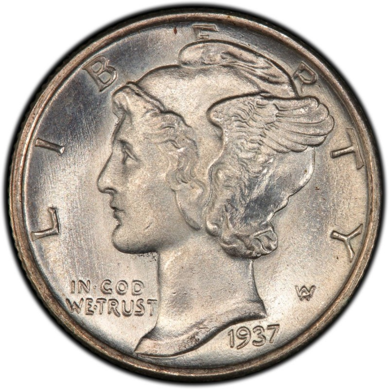 1937 Mercury Dime Values And Prices Past Sales