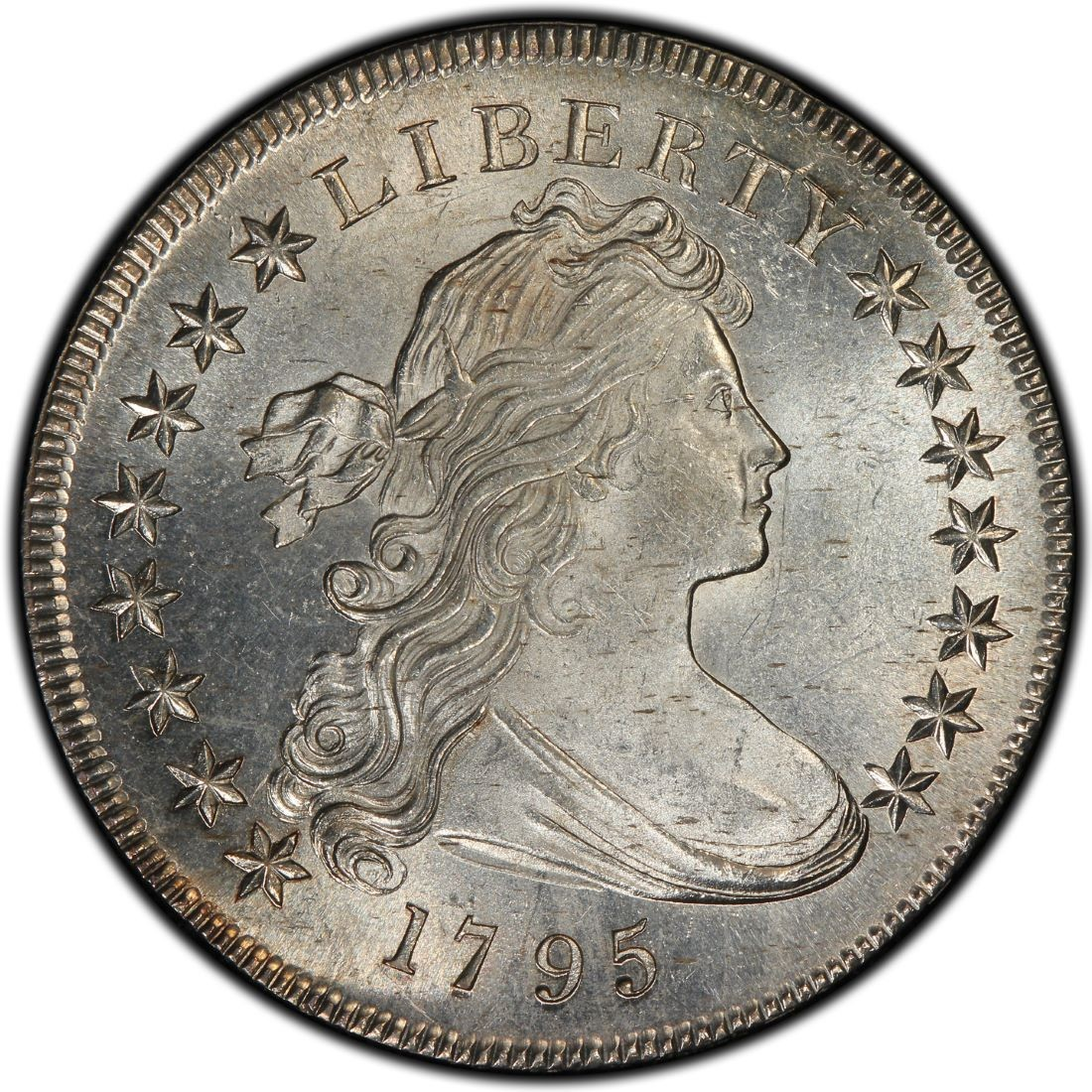 1795 Draped Bust Silver Dollar Values And Prices Past