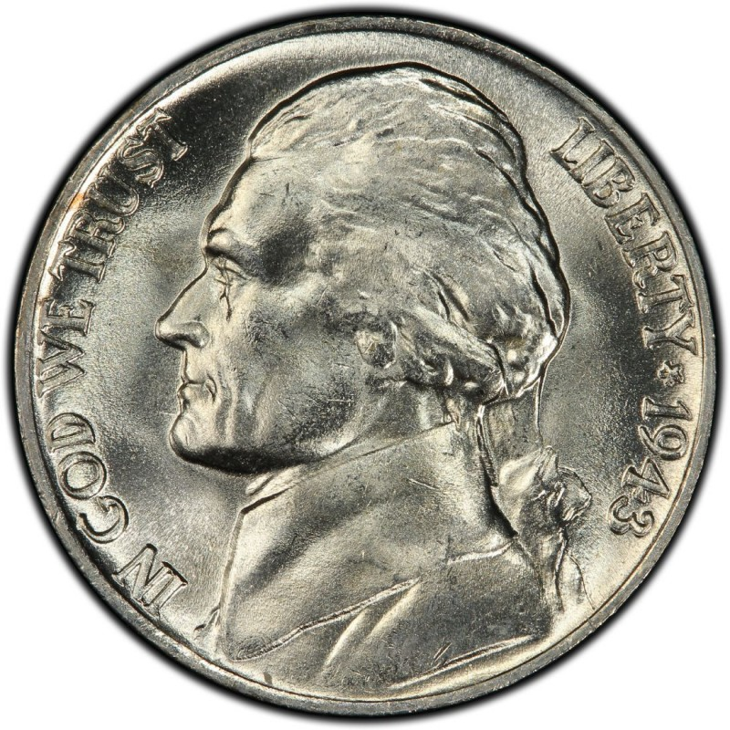 1943 Jefferson Nickel Values And Prices Past Sales