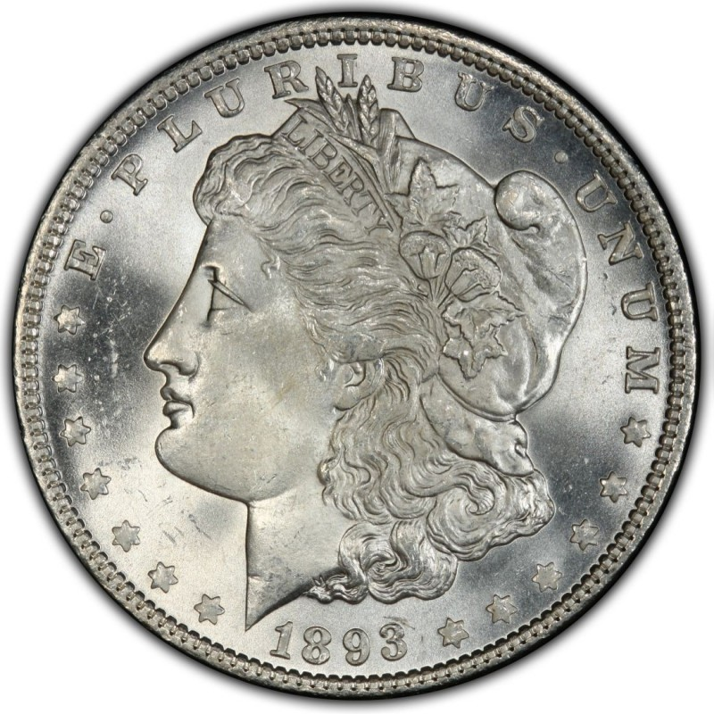 1893 Morgan Silver Dollar Values And Prices Past Sales