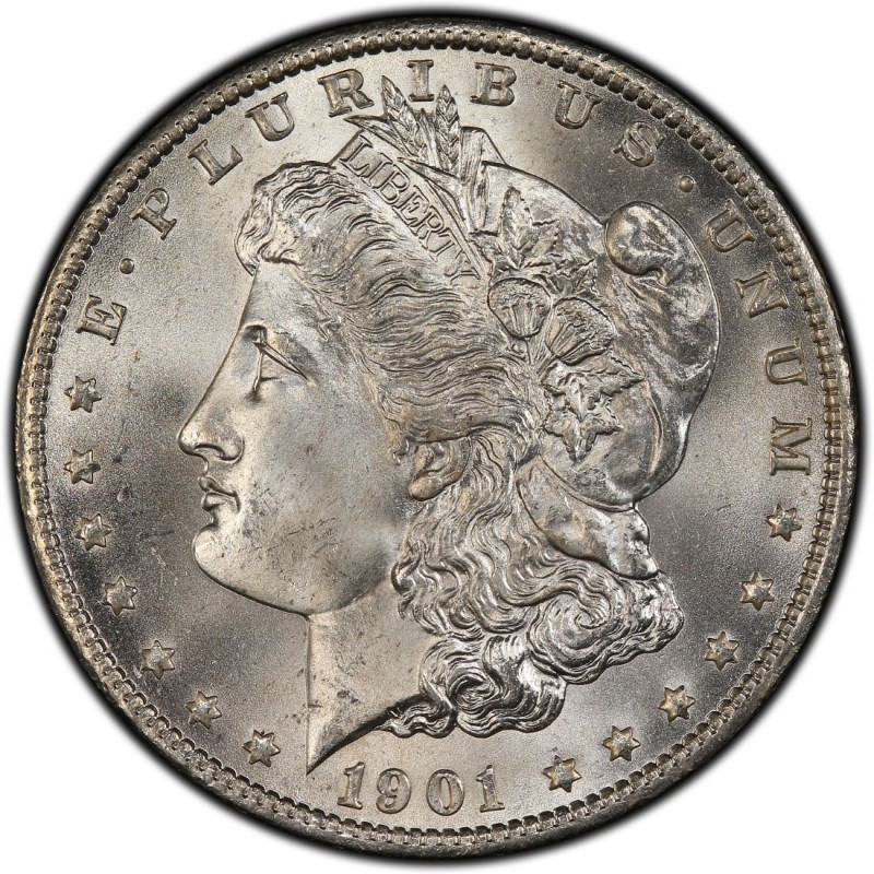 1901 Morgan Silver Dollar Values And Prices Past Sales