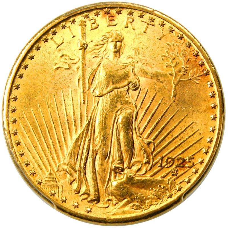 1925 Saint Gaudens Double Eagle Values And Prices Past