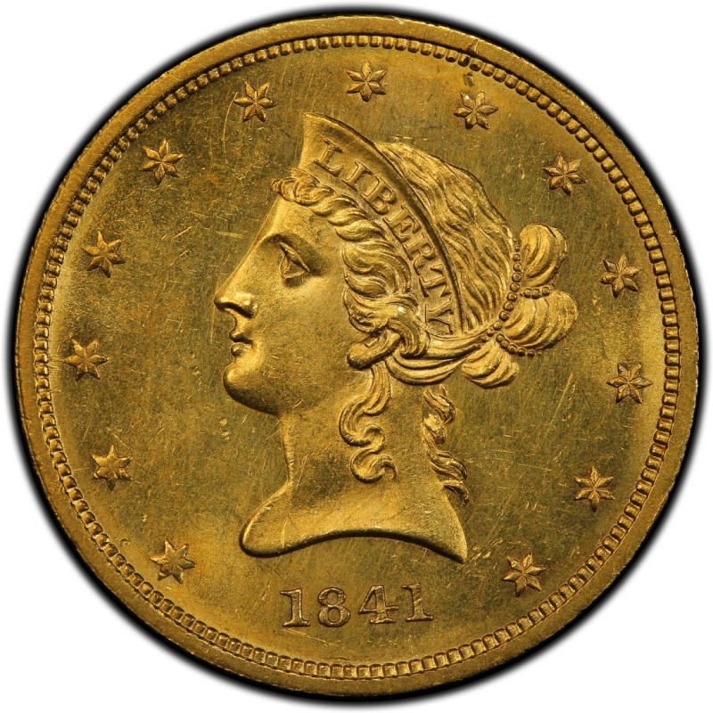 1841 Liberty Head 10 Gold Eagle Values And Prices Past