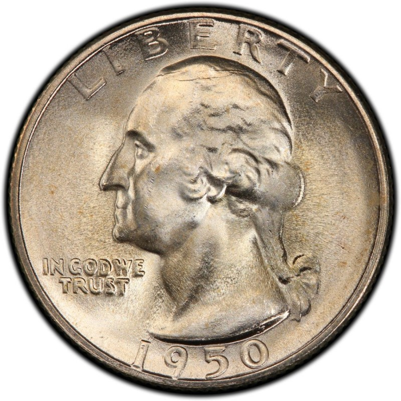 1950 Washington Quarter Values And Prices Past Sales