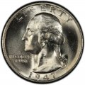 1947 Washington Quarter Value