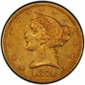 1874 Liberty Head Half Eagles