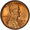1941 Lincoln Wheat Pennies