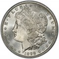 1898 Morgan Silver Dollar Value