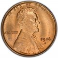 1914 Lincoln Wheat Pennies