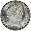 1909 Barber Half Dollar