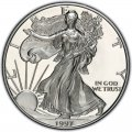 1997 American Silver Eagle Value