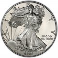 2000 American Silver Eagle Value