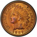1889 Indian Head Pennies