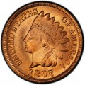 1897 Indian Head Pennies