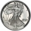 1990 American Silver Eagle Value