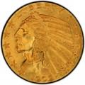 1909 Indian Head $5 Half Eagle