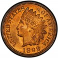 1892 Indian Head Pennies