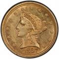 1867 Liberty Head $2.50 Gold Quarter Eagle Coin